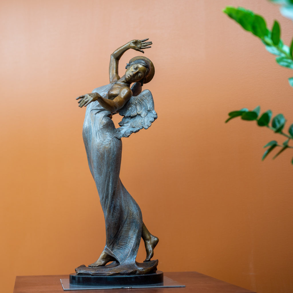 An Angel Anchored in Art Nouveau