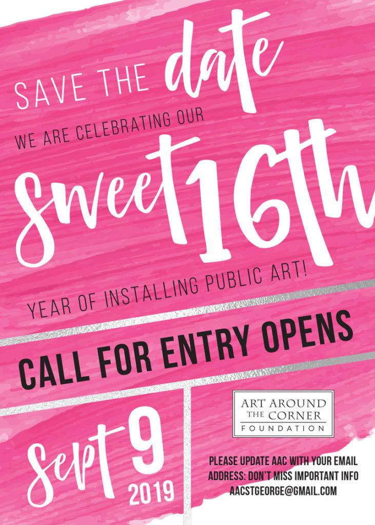 Sweet Sixteen - Art Around the Corner